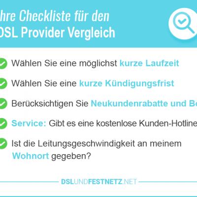 DSL Provider Vergleich 2018 – kostenlos vergleichen und wechseln
