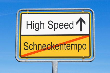der DSL Speedtest
