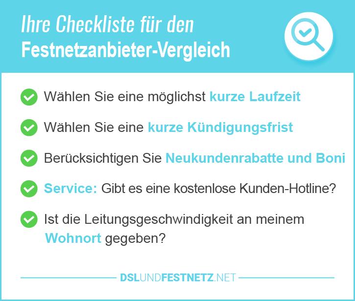 Festnetzanbieter Deutschland Preisvergleich