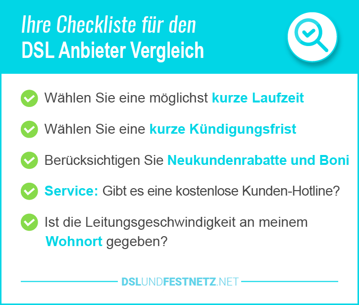 Günstige DSL Anbieter Berlin