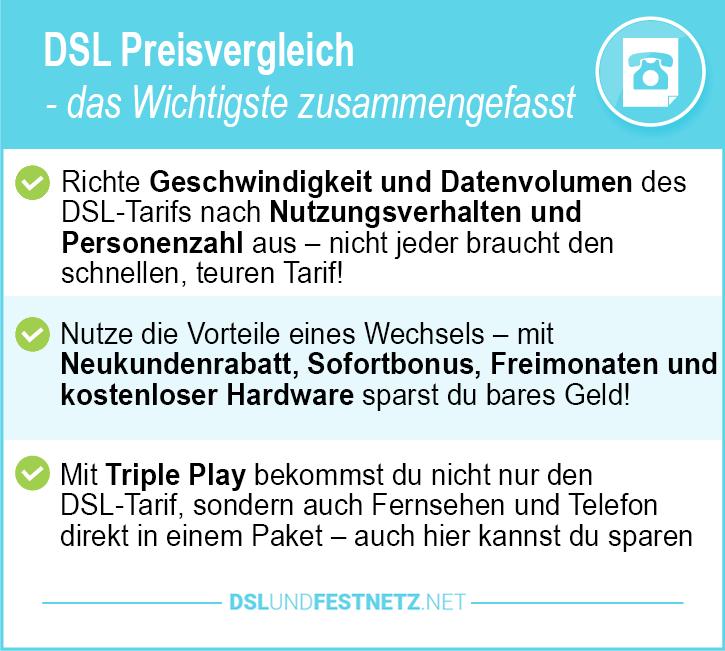 DSL Preisvergleich