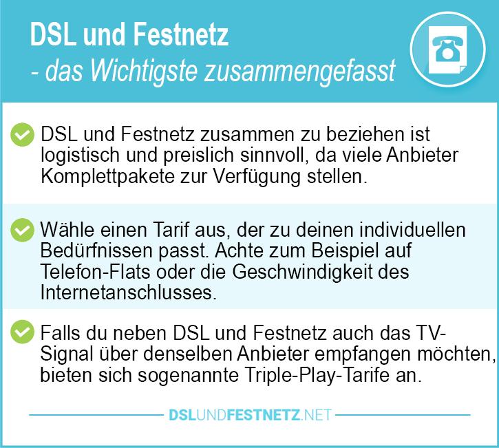 DSL und Festnetz
